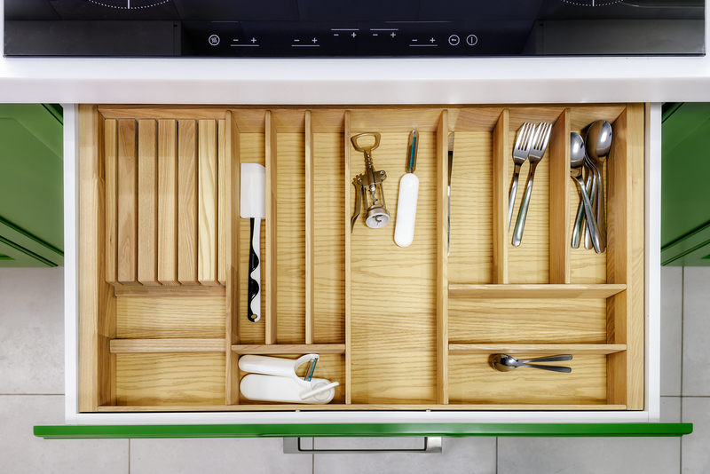 ladeverdelers in keukenlades