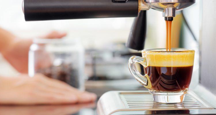 koffie bar in keuken