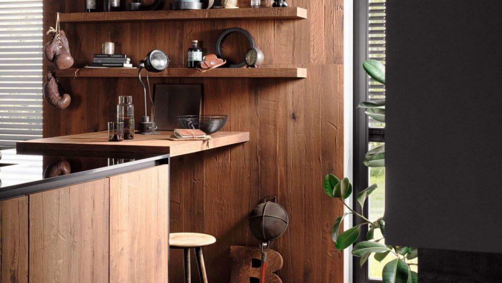 keuken gerookt hout