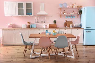 Pastel in de keuken