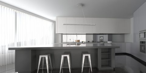 Grijs in de keuken