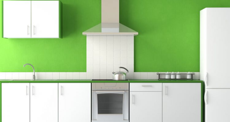 achterwand keuken schilderen