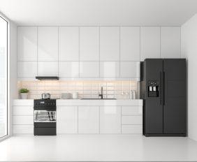 hoe maak ik een minimalistische keuken