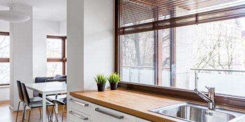 shutters keuken
