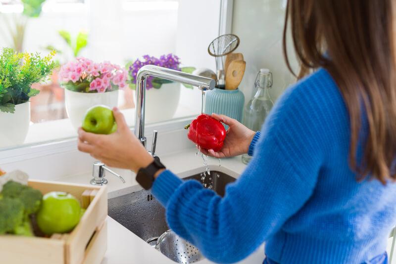 groenten wassen doe je zo